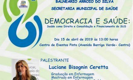 Conferência Municipal de Saúde acontece no dia 15 de abril