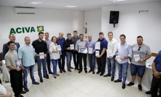 Reunião histórica | Bancada do Sul recebe da Aciva as principais demandas do Vale do Araranguá
