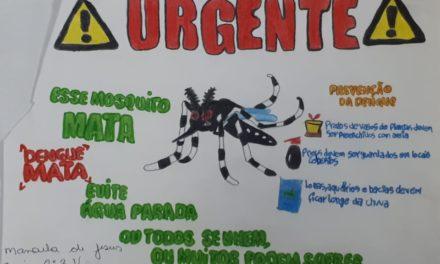 Alerta contra a dengue: focos são encontrados