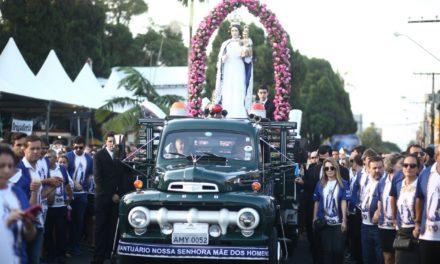 Festa de Nossa Senhora Mãe dos Homens deverá reunir 60 mil pessoas