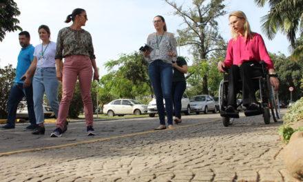Unesc trabalha para a melhoria da acessibilidade no campus