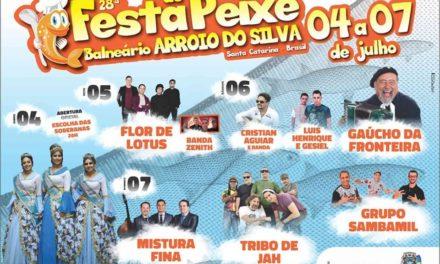 28ª Festa do Peixe em Balneário Arroio do Silva