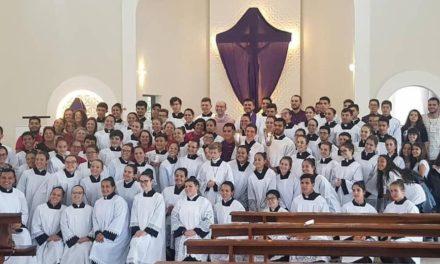 Santuário de Caravaggio acolhe Concentração Diocesana de Acólitos