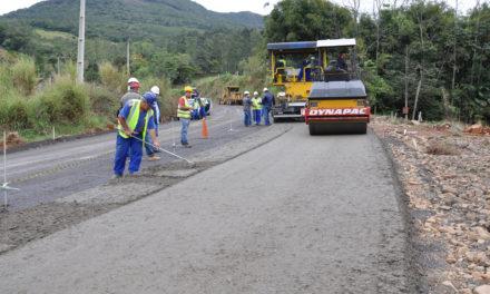 Serra da Rocinha será interditada para continuidade da pavimentação