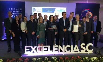 Sebrae/SC vence com pontuação máxima o Prêmio Catarinense da Excelência