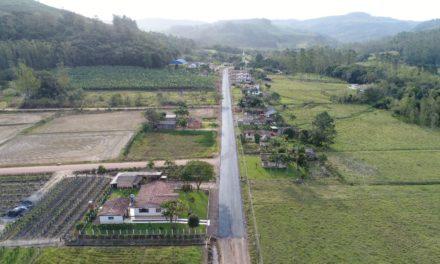 Pavimentações ganham forma em Santa Rosa do Sul