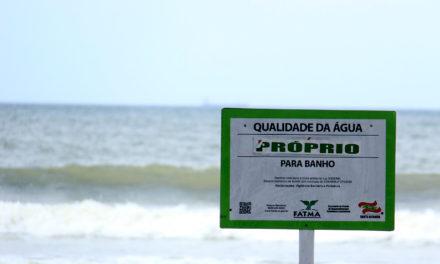 Praias de Santa Catarina atingem quase 80% de balneabilidade, próprias para banho.