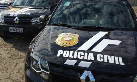 Polícia civil prende em Araranguá suspeito de roubo no Rio Grande do Sul