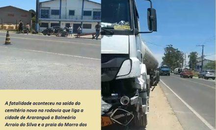 Acidente de trânsito deixa 3 vítimas fatais na rodovia Governador Jorge Lacerda em Araranguá