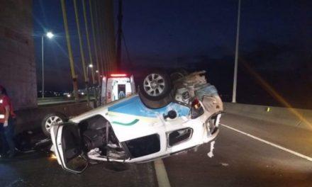 Carro da Saúde de Jacinto Machado se envolve em acidente