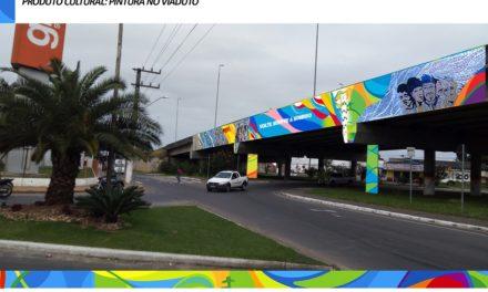Elevado principal de Sombrio receberá arte de grafite