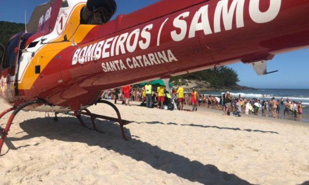 Jovem gaúcho morre vítima de afogamento no Litoral Sul Catarinense