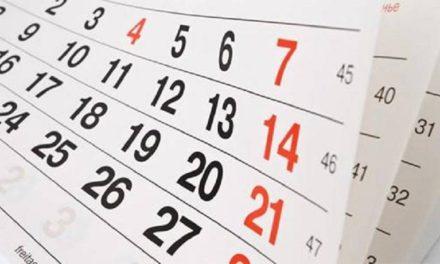 Confira o calendário de feriados prolongados em 2020