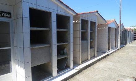 Mais de 70 capelas e túmulos tiveram portas e letreiros roubados em cemitério de Forquilhinha