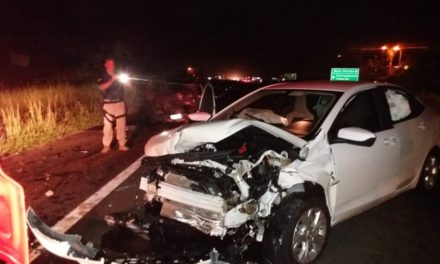 Acidente na BR-101 deixa quatro feridos no Sul de SC