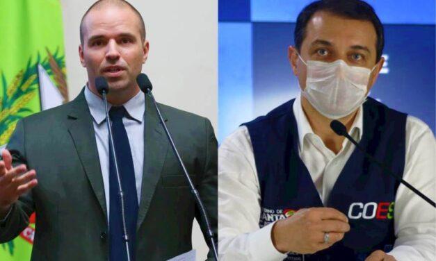 Presidência da Alesc se manifesta após polêmica com Jessé Lopes