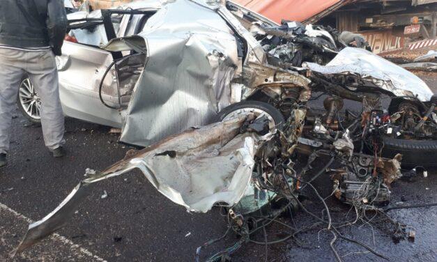 Acidente grave tira a vida de jacinto machadense na SC-285