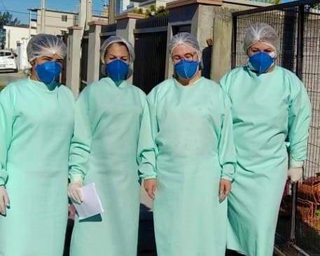 Equipe multiprofissional da saúde realiza visitas em Balneário Gaivota