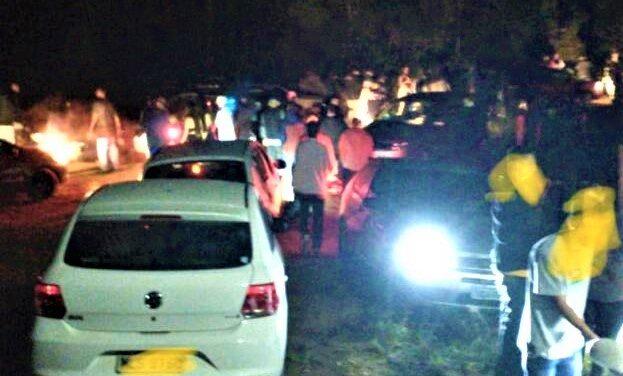 Policiais flagram festa com mais de 500 pessoas no Sul do Estado