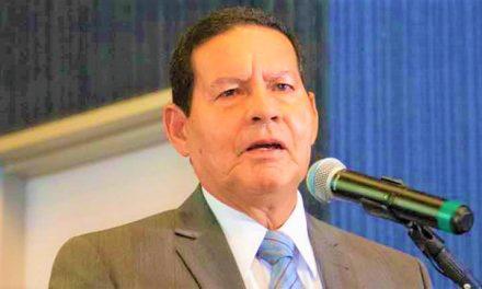 Mourão abre o jogo sobre pressão contra o poder executivo