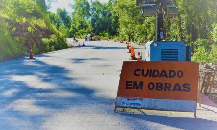 DNIT alerta para detonações de rochas nesta segunda-feira na Serra da Rocinha