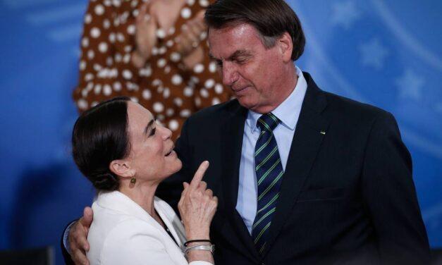 Regina Duarte deixa secretaria de Cultura do governo Bolsonaro