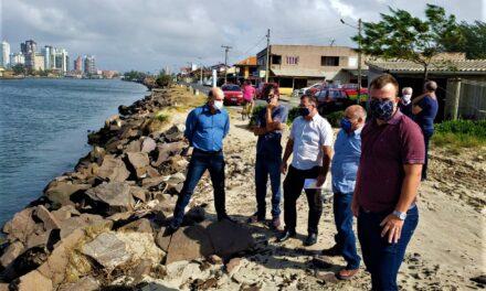 Zé Milton confirma a liberação de R$ 400 mil para desassoreamento da Barra do Rio Mampituba