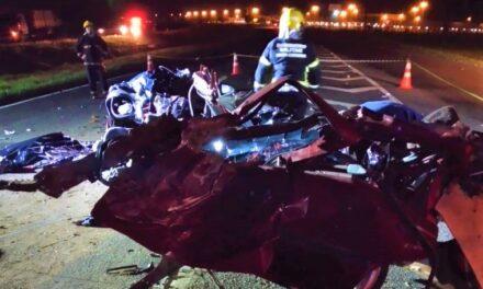 Grave acidente mata três da mesma familia em Araranguá