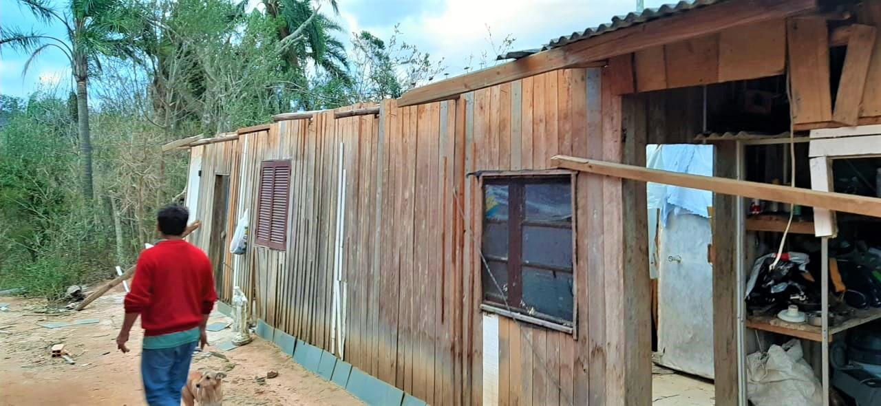 Ciclone em SC: Estado contabiliza prejuízos de R$ 277,8 milhões