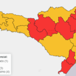 Cai para oito o número de regiões classificadas com risco gravíssimo em SC