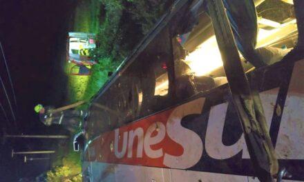 Acidente com ônibus de viagem deixa duas pessoas mortas em SC