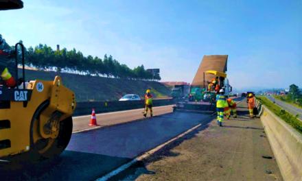Concessionária inicia trabalhos de restauração de pavimento na BR-101
