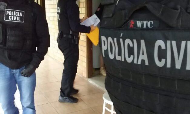 Polícia Civil cumpre mandados em investigação contra o tráfico de drogas em Turvo