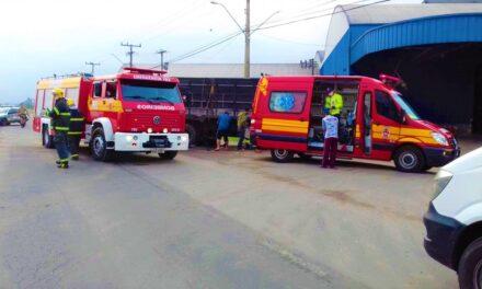 Motoqueiro fica gravemente ferido em acidente em Jacinto Machado