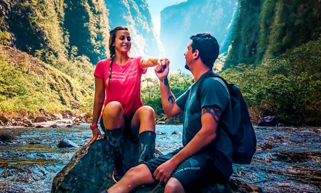 Na região Caminho dos Canyons retornam as atividades na Trilha do Rio do Boi