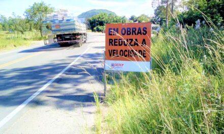Setep será a responsável pelo reparo das rodovias estaduais pavimentadas da AMESC