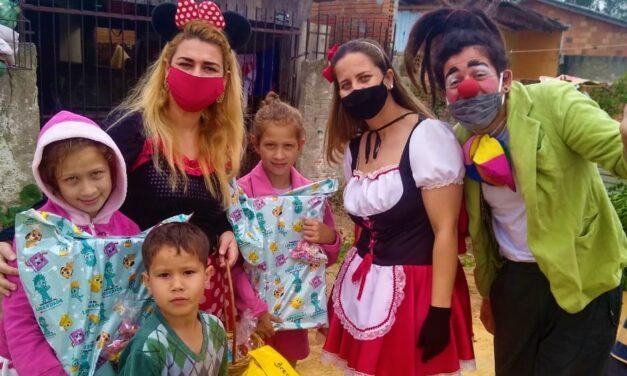 Casa da Fraternidade realiza ação de dia das crianças