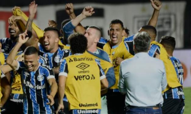 Grêmio domina o São Paulo e vai a mais uma final de Copa do Brasil
