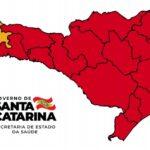 SC tem 15 regiões em risco gravíssimo