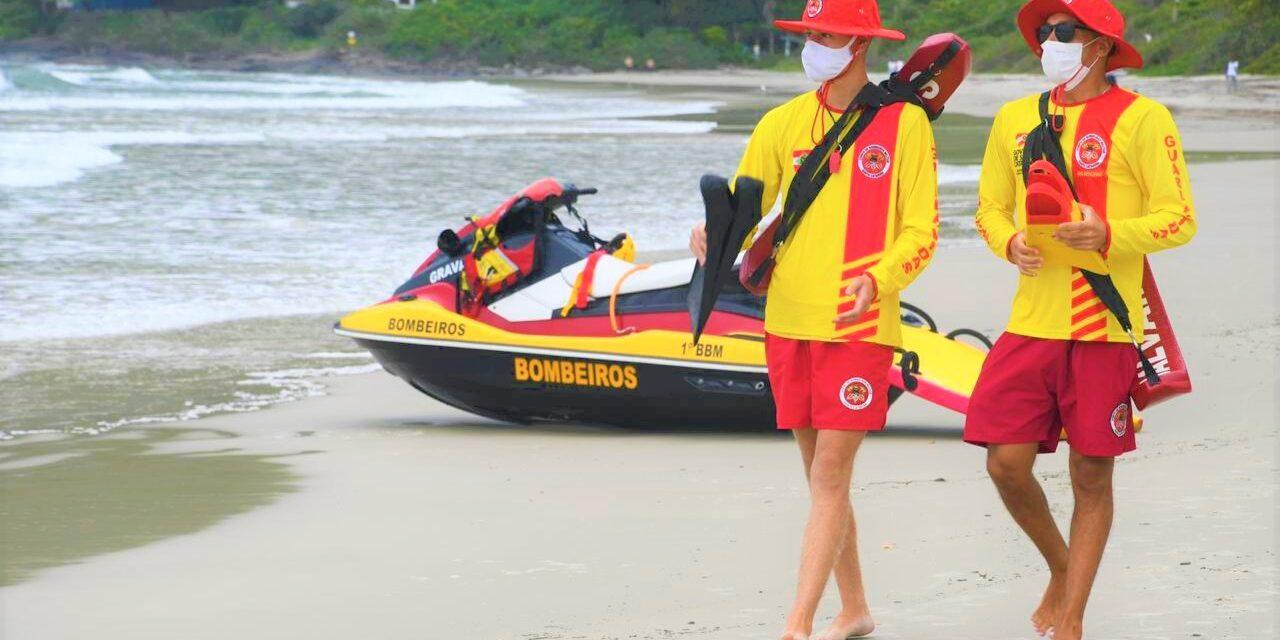 Praias do Sul destacam aumento de ocorrências envolvendo águas-vivas