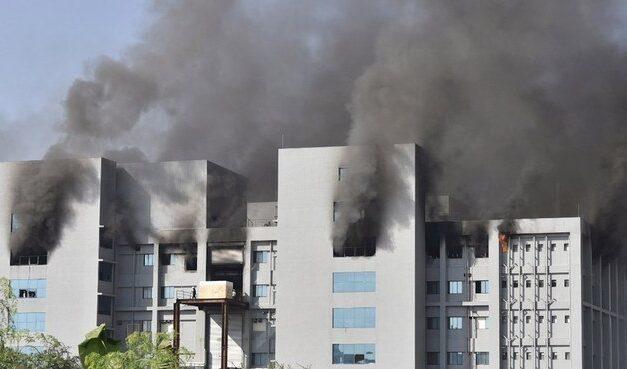 Incêndio em prédio de maior fabricante de vacinas do mundo deixa ao menos cinco mortos
