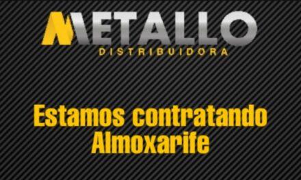 Metallo Distribuidora com vaga de emprego em Santa Rosa do Sul
