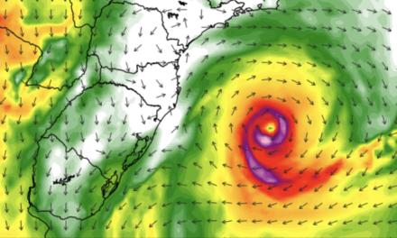 Ciclone atípico vai atuar na costa da região Sul nesta semana