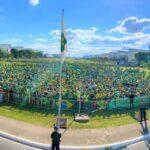 Agro fez Brasília tremer
