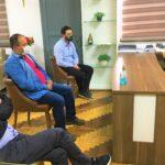 Prefeito Gaiola se reúne com novos secretários de Agricultura e Turismo