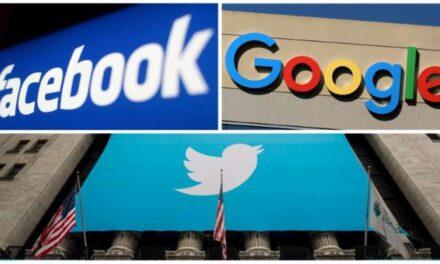 CPI aprova convocação de representantes de Facebook, Google e Twitter
