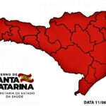 Todo o Estado de Santa Catarina volta ao nível gravíssimo para Covid-19