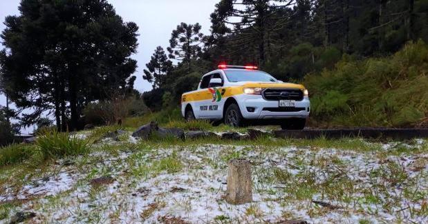 Operação Inverno reforça a segurança de turistas na Serra Catarinense