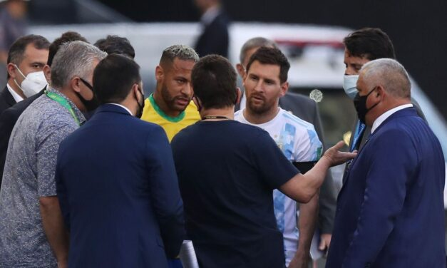 Anvisa paralisa jogo entre Brasil e Argentina; partida foi encerrada