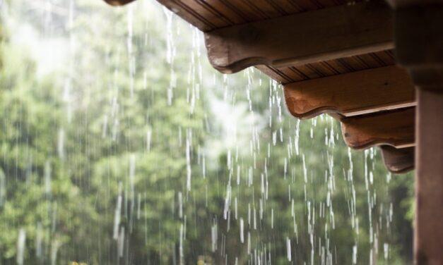 Frente fria traz chuva e queda na temperatura para a região